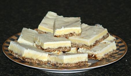 how to make cheesecake bars