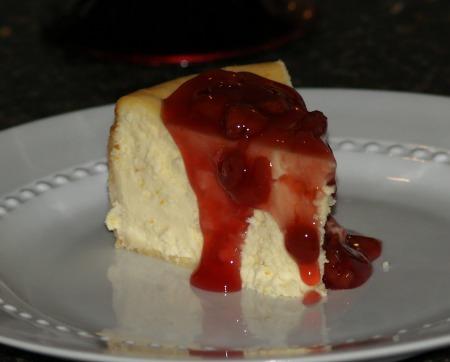red cherry cheesecake topping recipe