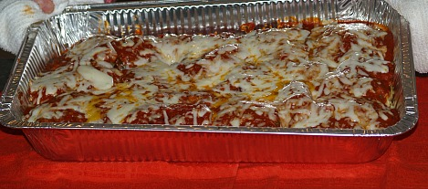 Chicken Parmesan for a Crowd