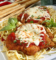 How to cook chicken parmesan