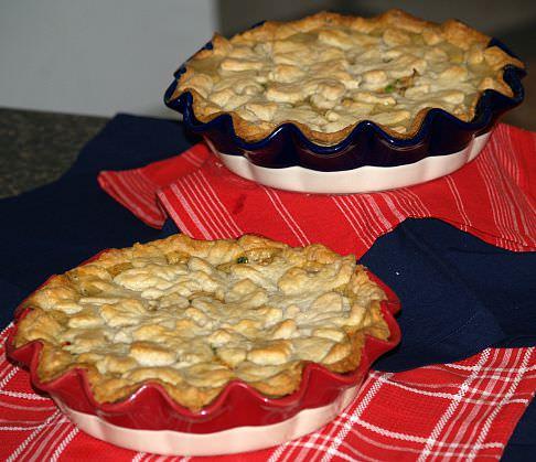 how to make chicken pie recipe