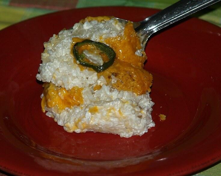 Chili Cheese Rice Recipe
