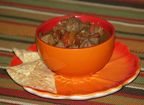 Chili Recipe with Chopped Steak