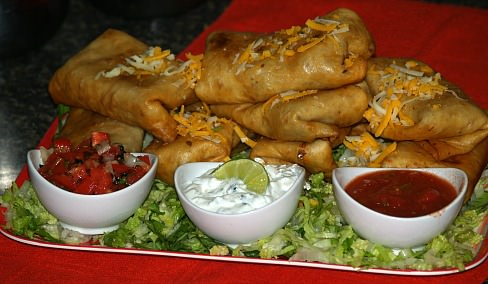 Spicy Chimichanga Recipe