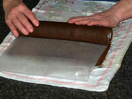 Re-roll in Wax Paper