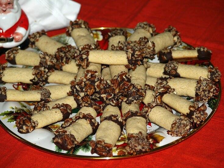 Chocolate Dipped Orange Logs Recipe