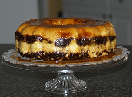 chocolate flan cake recipe