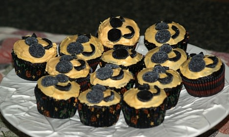 Chocolate Halloween Cupcake Recipe