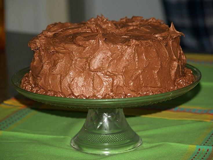 Mocha and Cherry Cake Recipe
