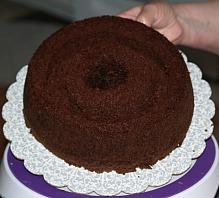 Chocolate Mint Cake Recipe Assemble Step 5