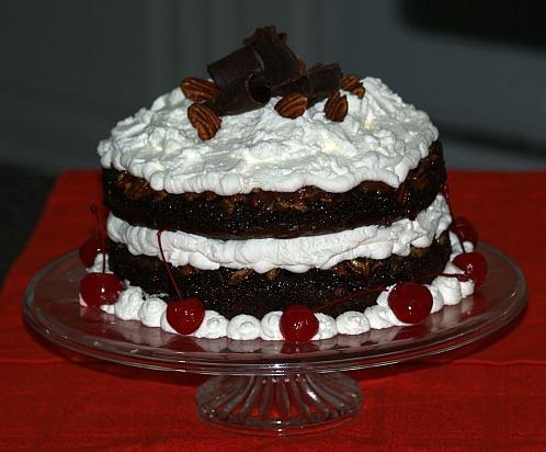 Chocolate Praline Layer Cake Recipe