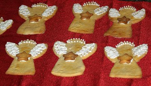 Chocolate Truffle Angel Cake Cookies
