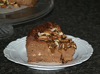 chocolate amaretto cheesecake recipe
