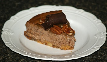 chocolate turtle cheesecake recipe