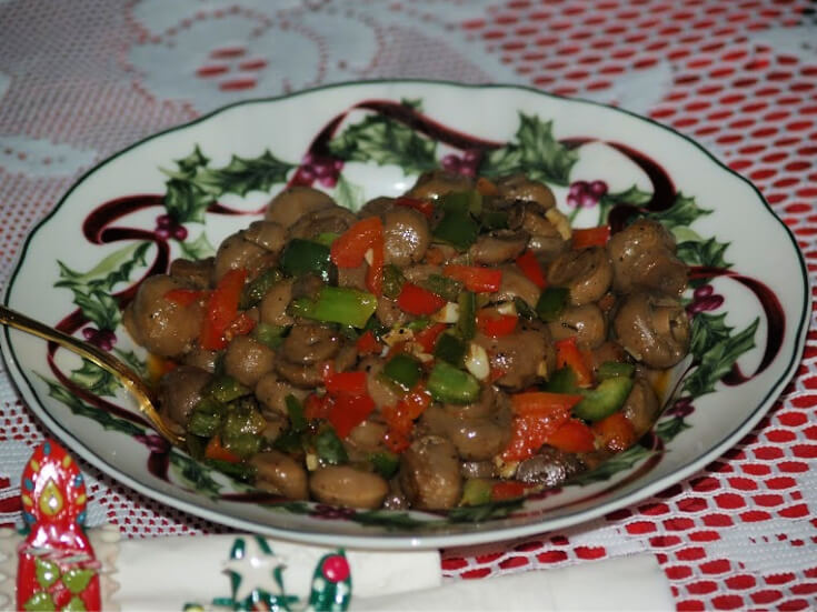 Hot and Spicy Sauteed Mushrooms