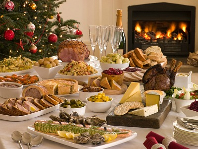how to make christmas buffet recipes