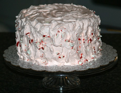 Peppermint Red Velvet Cake Recipe