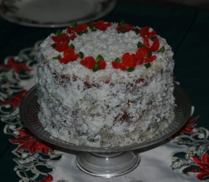 Asian Fruit Cake Recipe