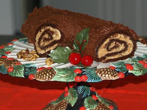 Christmas Log Cake Recipes