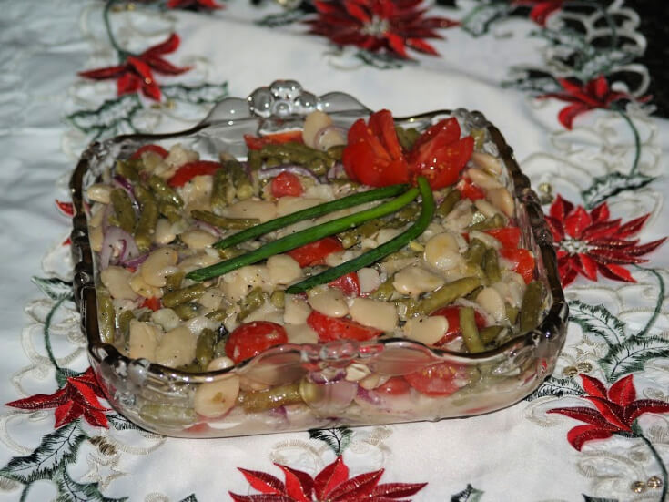 Green and White Bean Salad Recipe