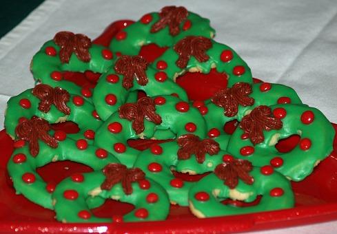 Christmas Spritz Wreath Cookie Recipe