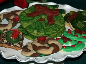 How to Make Christmas Wreath Cookie Recipes