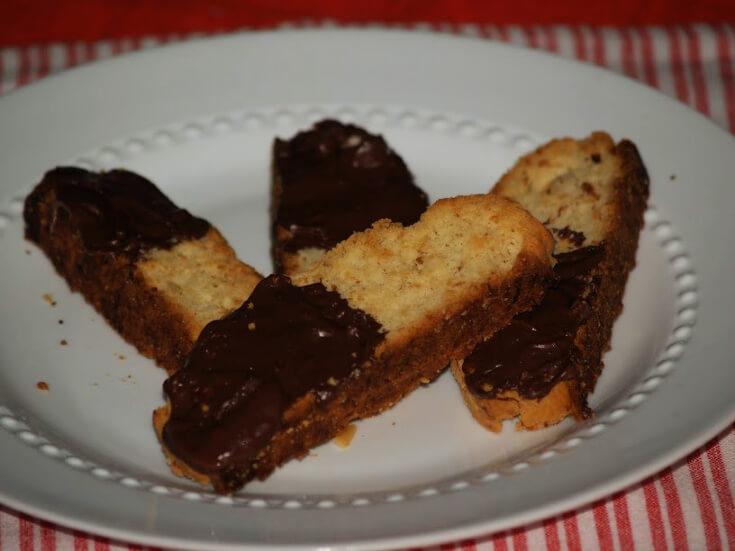 Coconut Macadamia Biscotti