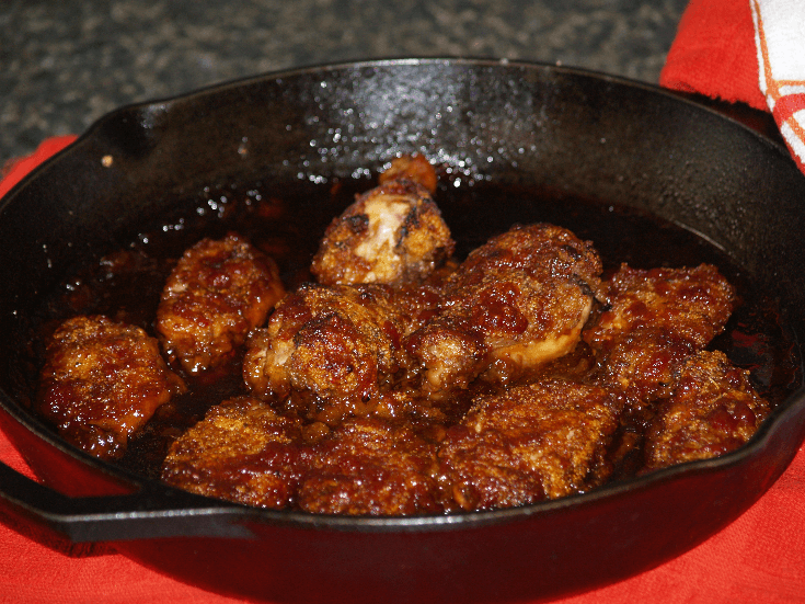 Special Barbeque Sauce on Wings