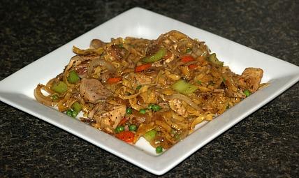 how to make chicken chow mein recipe