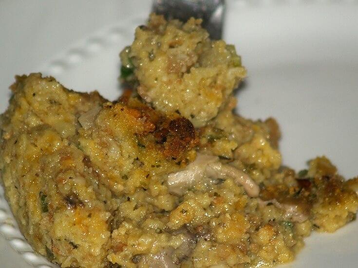 Oyster Cornbread Stuffing