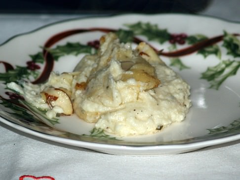 Creamy Baked Mashed Potatoes