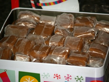 Creamy Soft Caramels Wrapped