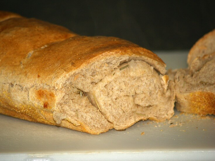 Rustic Whole Wheat Bread Recipe