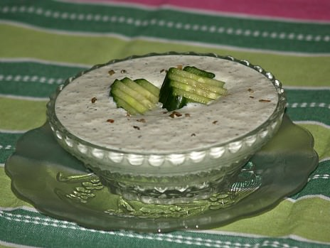 Cucumber Cold Soup Recipe