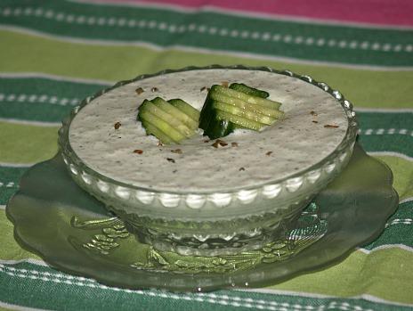 Cucumber Cold Soup Recipe
