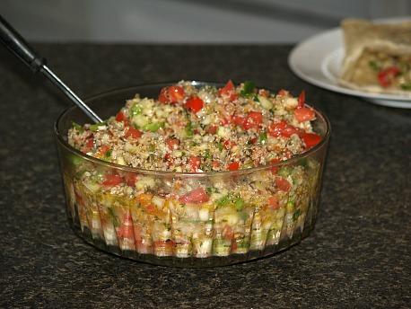 How to Make Tabouli Salad
