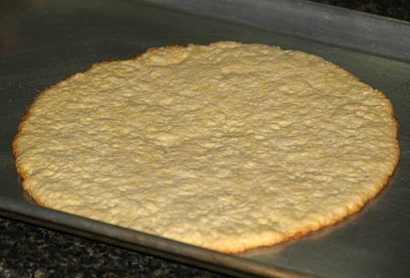 Baked Crust for Dark Cherry Flan Meringue Recipe