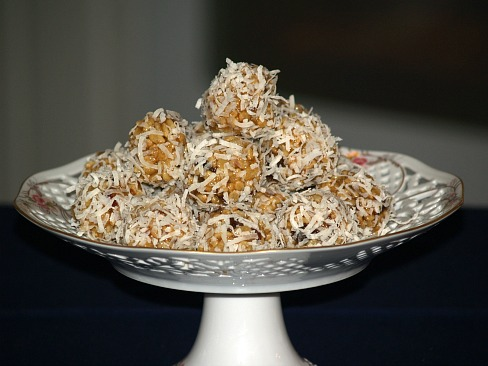 Date Balls with Rice Krispies