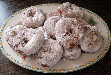 Apple Doughnut Recipe