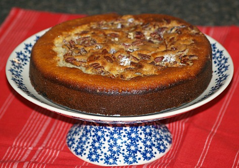 dried cherry yogurt cake recipe
