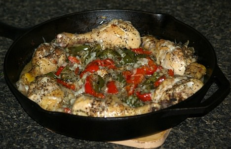 Drumsticks with Vegetable Recipe