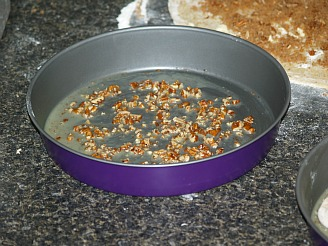 Prepared Pan for Orange Sticky Buns