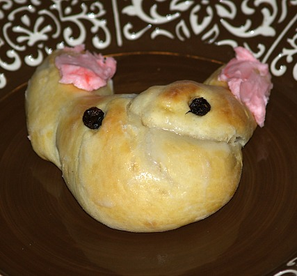 Easter Bunny Rolls