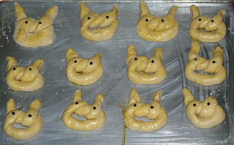 soft bunny pretzels