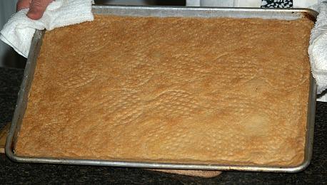 Baked Pan Shortbread