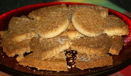 English Shortbread Cookie Recipe from Springform Pan
