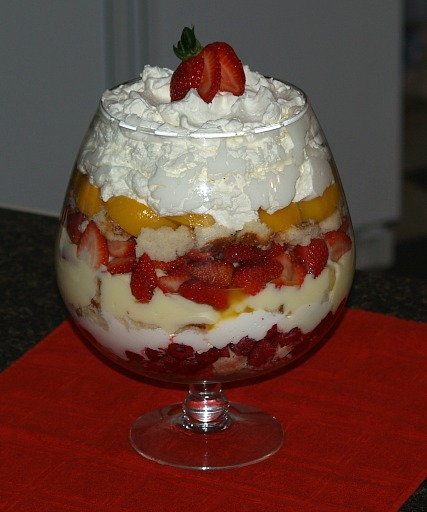 English Trifle Recipes — Dishmaps