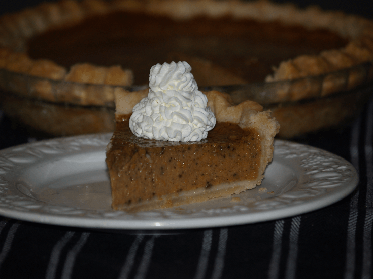 Famous Kelly Pumpkin Pie Recipe