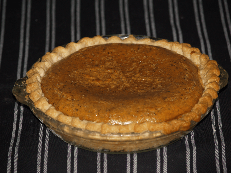 Famous Kelly Whole Pumpkin Pie