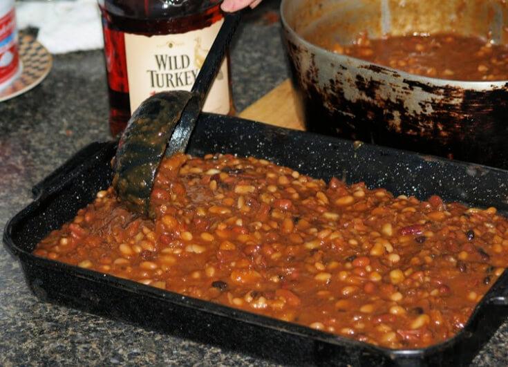 Preparing Baked Beans